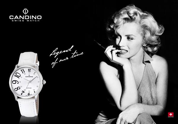 Marilyn Monroe et Candino