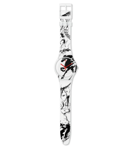 Montre Année du Cheval Swatch