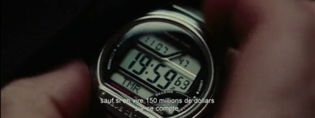 Casio WV58E-1AVER dans le film Non Stop avec Liam Neeson