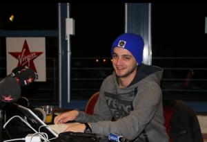 Stan Gusman de Virgin Radio et sa montre Ice-Watch