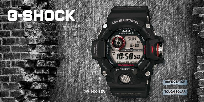 une montre un m tier avec les montres casio g shock. Black Bedroom Furniture Sets. Home Design Ideas