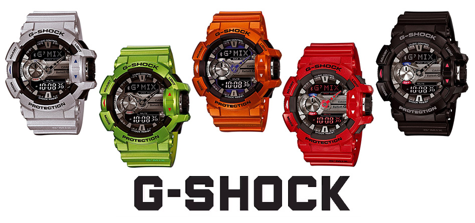 Casio G-shock Gmix