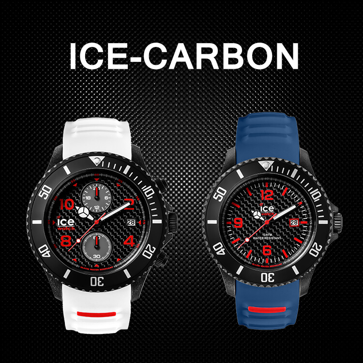 ice watch ice carbon la nouvelle collection en composite de carbone. Black Bedroom Furniture Sets. Home Design Ideas