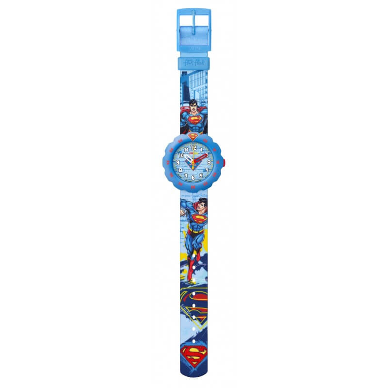 montre-flik-flak-flsp004-superman-s-back-in-town